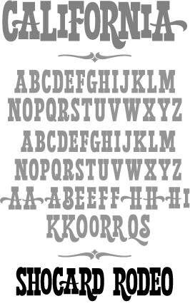 Western Vintage Font Inspiration