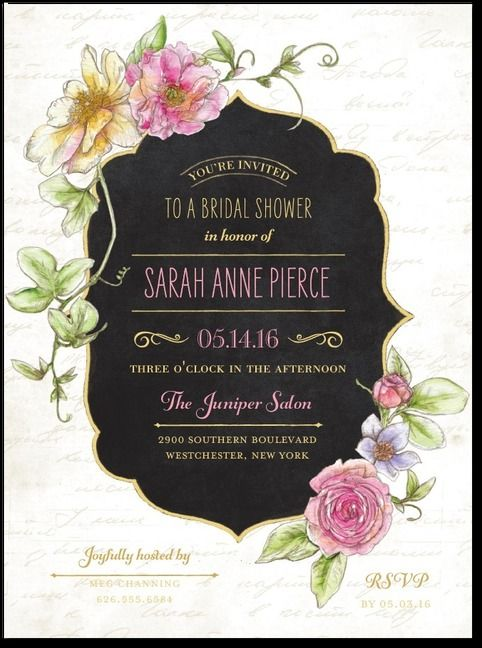 bc5abb530046 ... wedding invitations. Simple and elegant design. Great for a Great  Gatsby theme or Garden Party.
