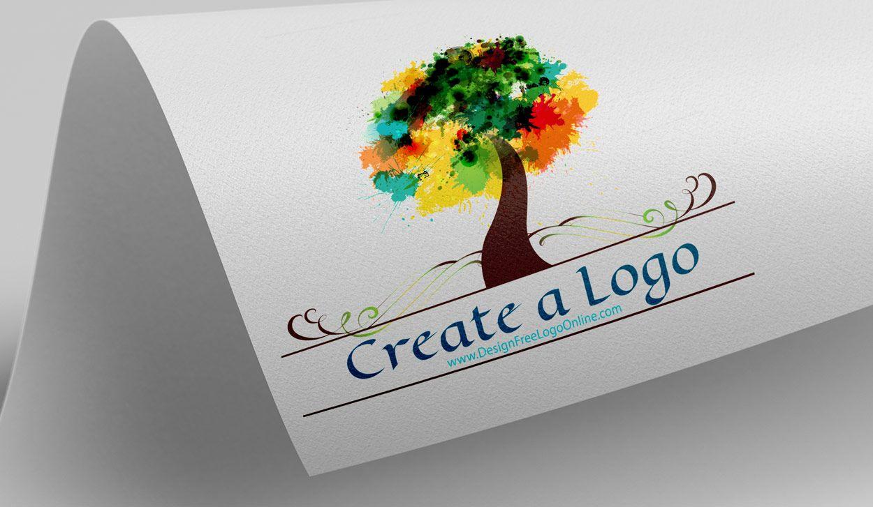 Free Art Logo Maker Tree Logo Design artlogo logomaker