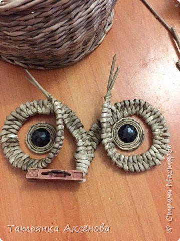 Мастер класс по плетению глаз! фото 15 | Бумажные совы ...