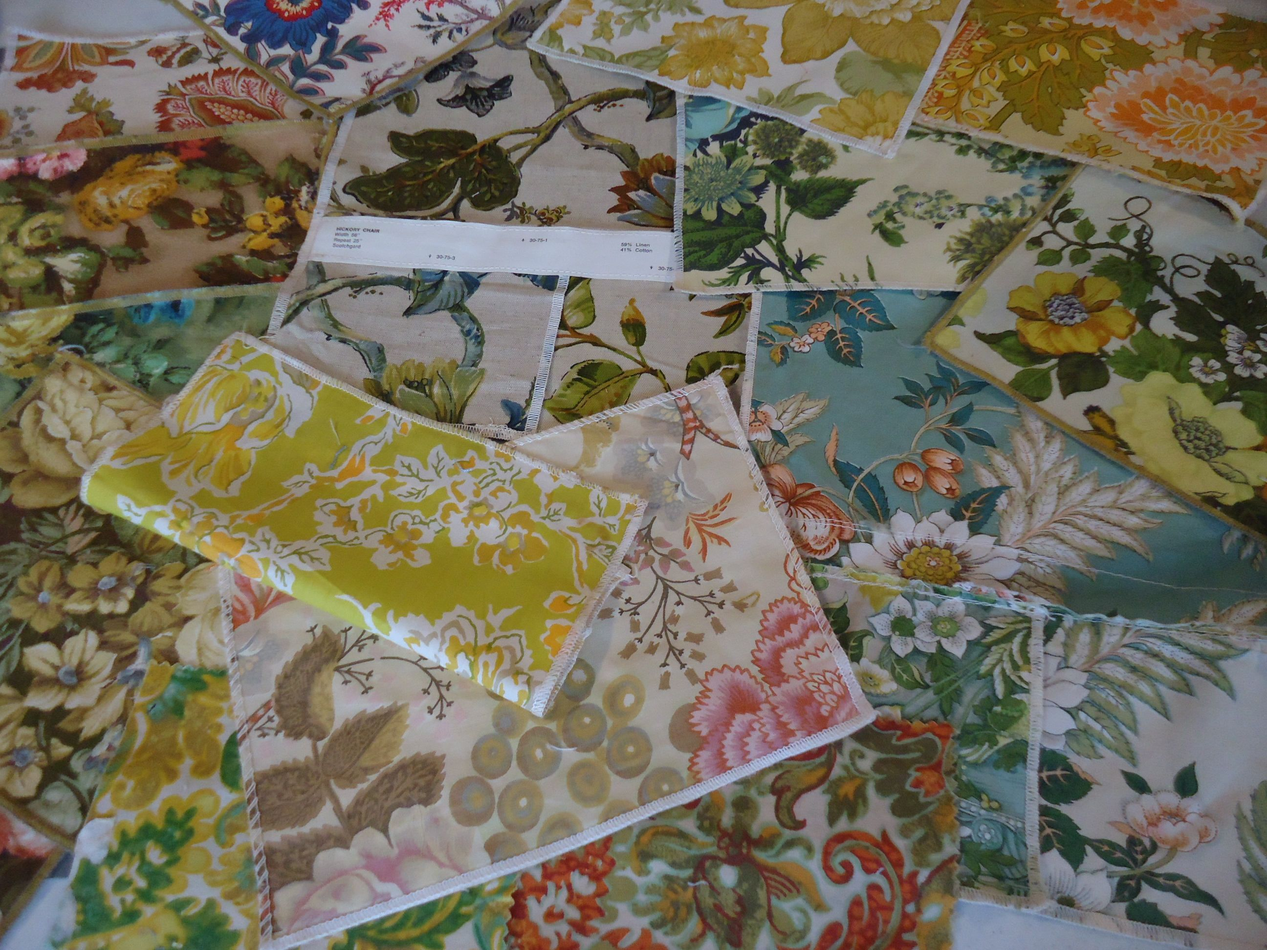 Vintage Upholstery Fabric Samples Bold Colorful Florals Classic Colors Crafting Fabric Bundle Of Fun By Upholstery Fabric Samples Fabric Samples Fabric Bundle