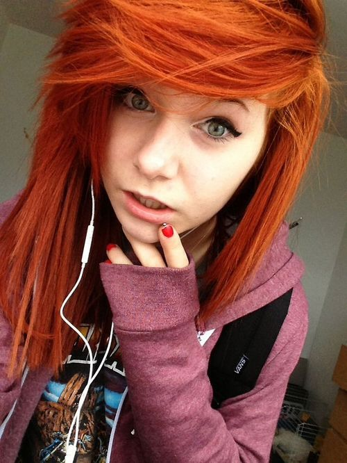 Ginger Red Red Haired Scenes Pinterest Emo Hair Hair Und