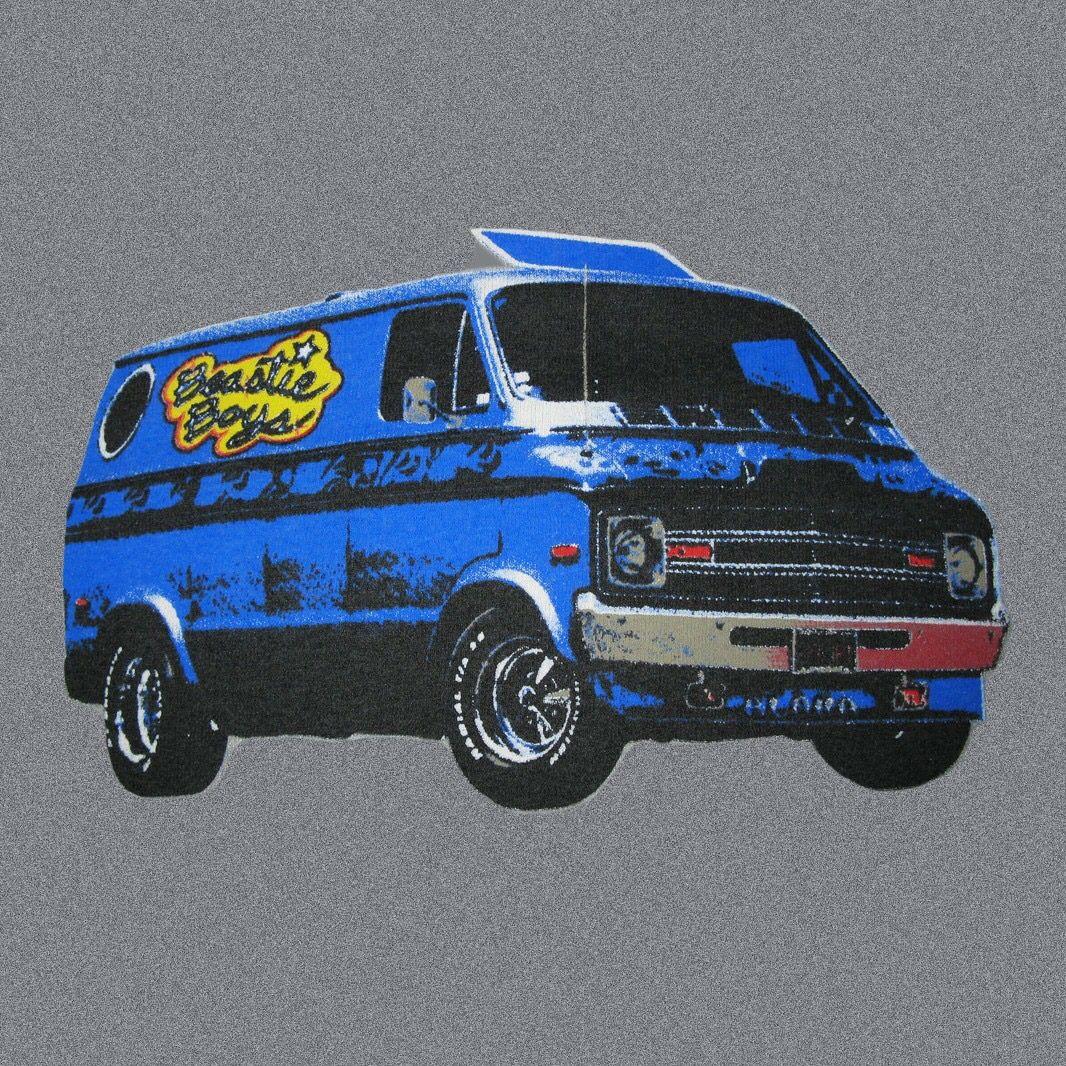 """""""Beastie Boys"""" Themed Dodge Van"""