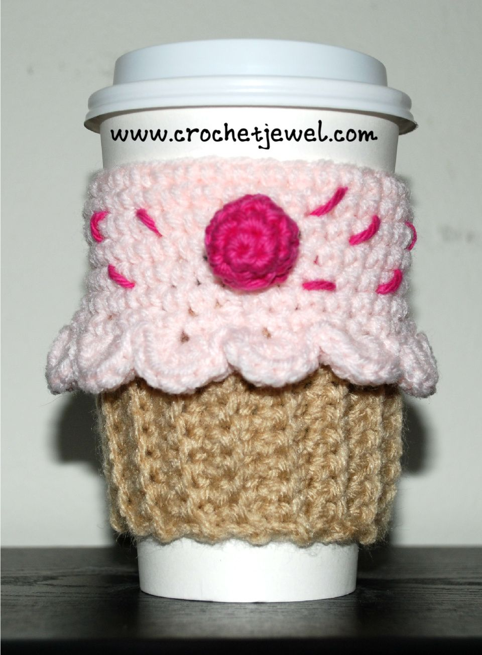 Famous Crochet Cozy Cup Pattern Ornament - Sewing Pattern for ...