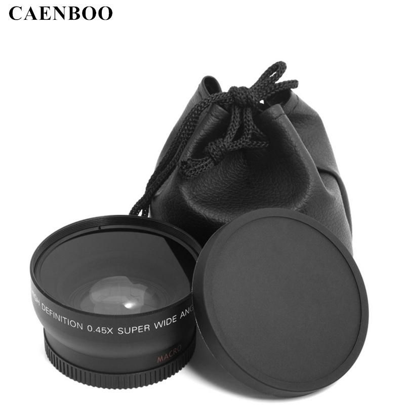 Caenboo 0 45x37mm 43mm 46mm 49mm 52mm Wide Angle Macro Lens Wide Angle Camera Lens For Canon Eos Nikon For Sony Lens Accessories Lens Bag Macro Lens Nikon Macro Lens