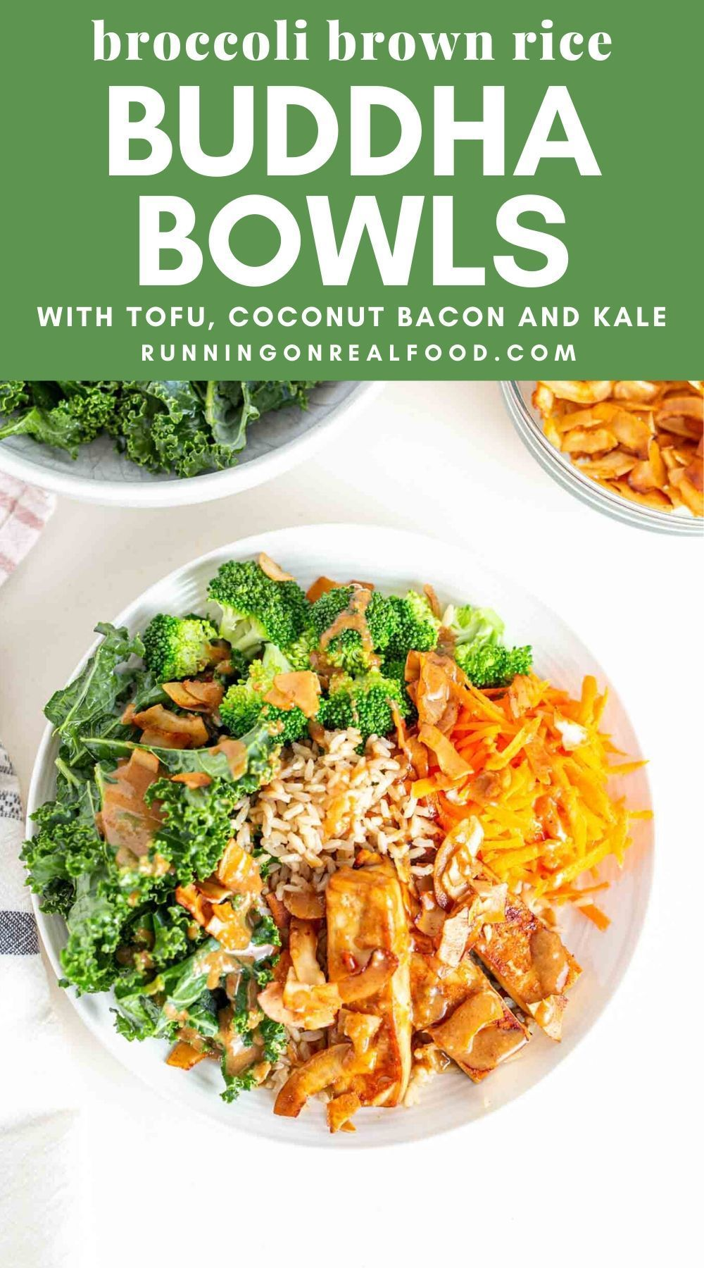 Broccoli Brown Rice Bowls Recipe In 2020 Delicious Tofu Healthy Vegan Dinner Recipes Vegetarian Recipes