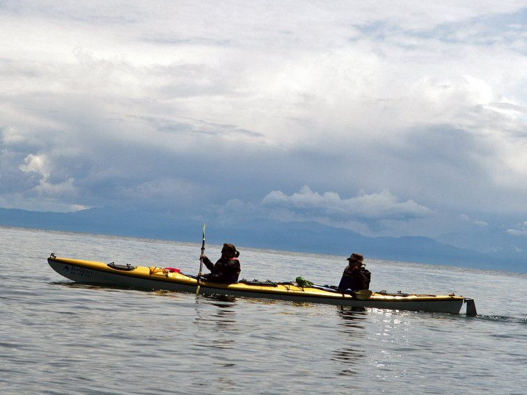 Explore Washington State's San Juan Islands in a kayak.