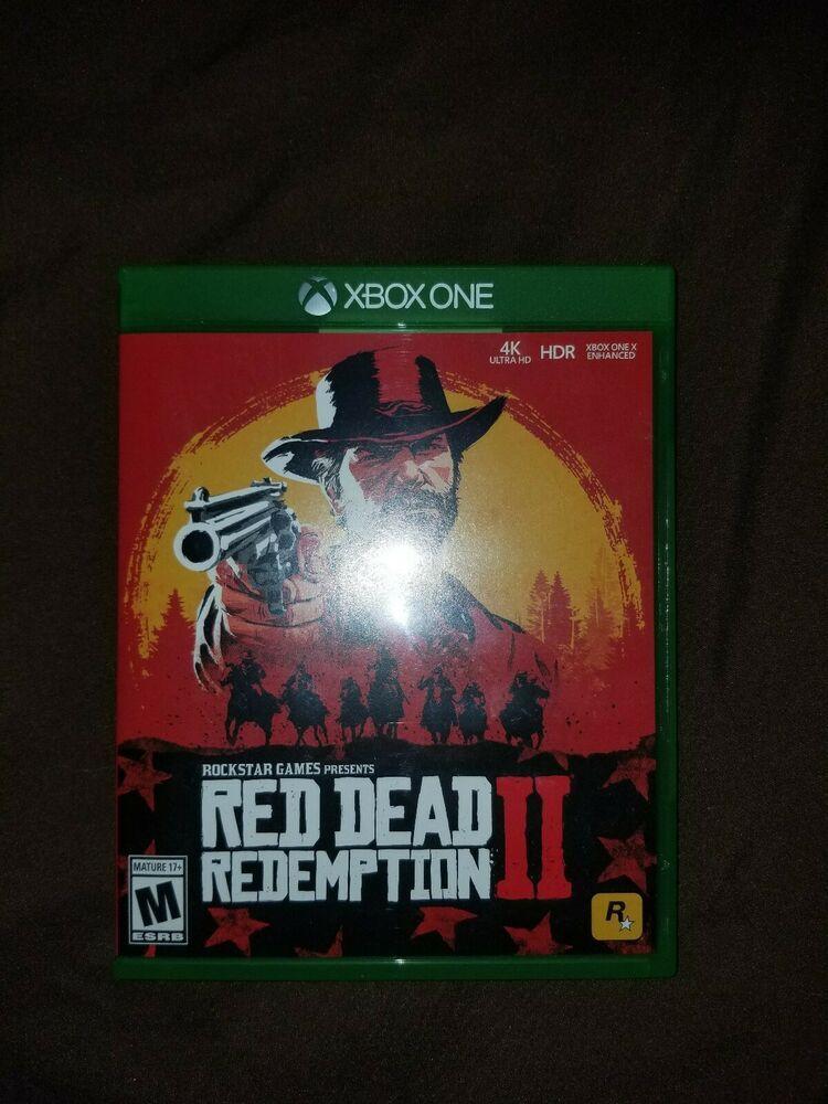 Red dead redemption 2 standard edition microsoft xbox