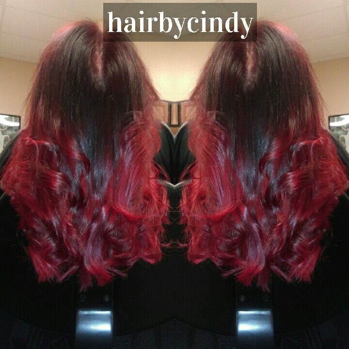 Fire Ombre! Hair by Cindy