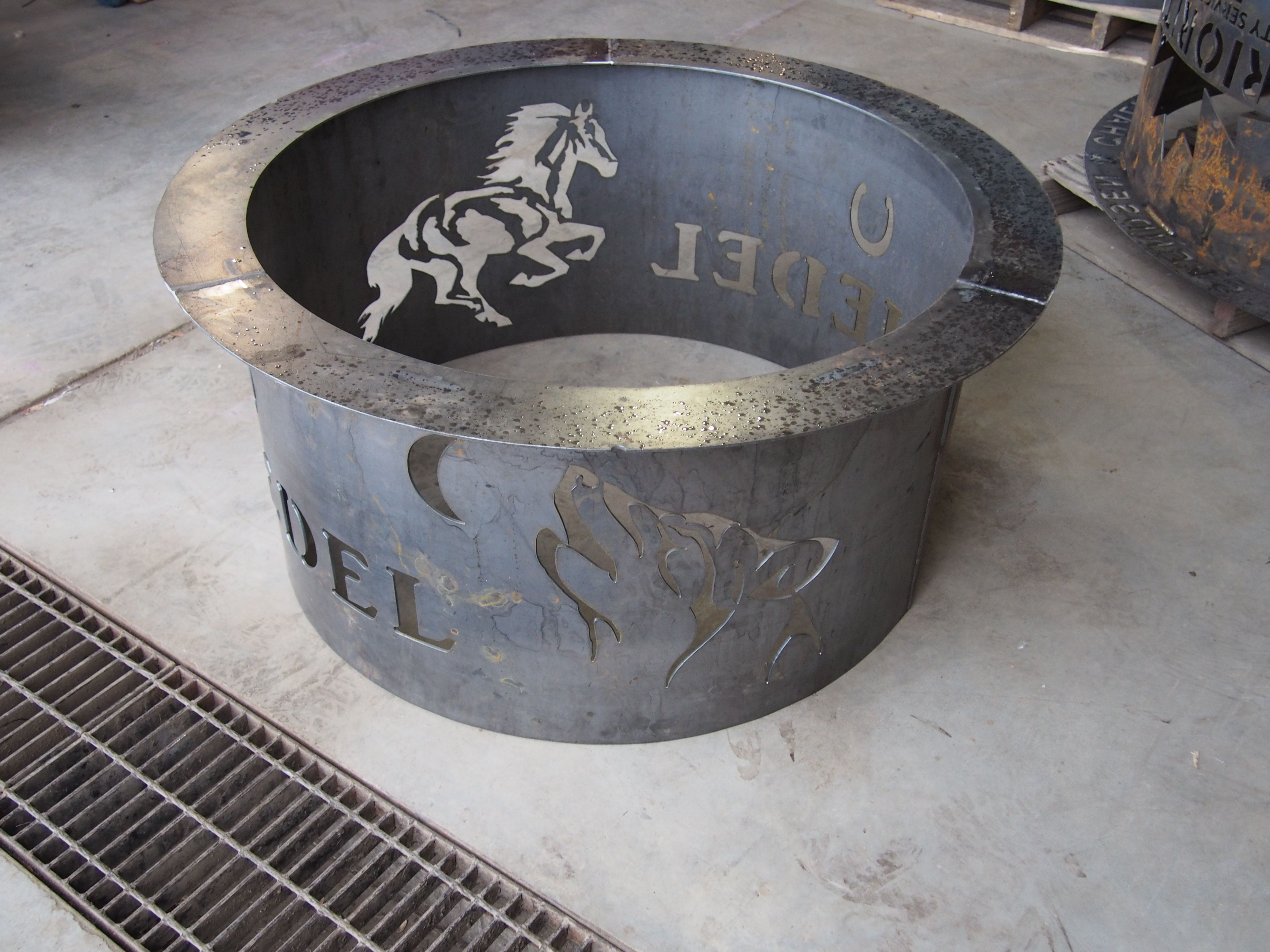 35 best custom fire pits images on pinterest bonfire pits