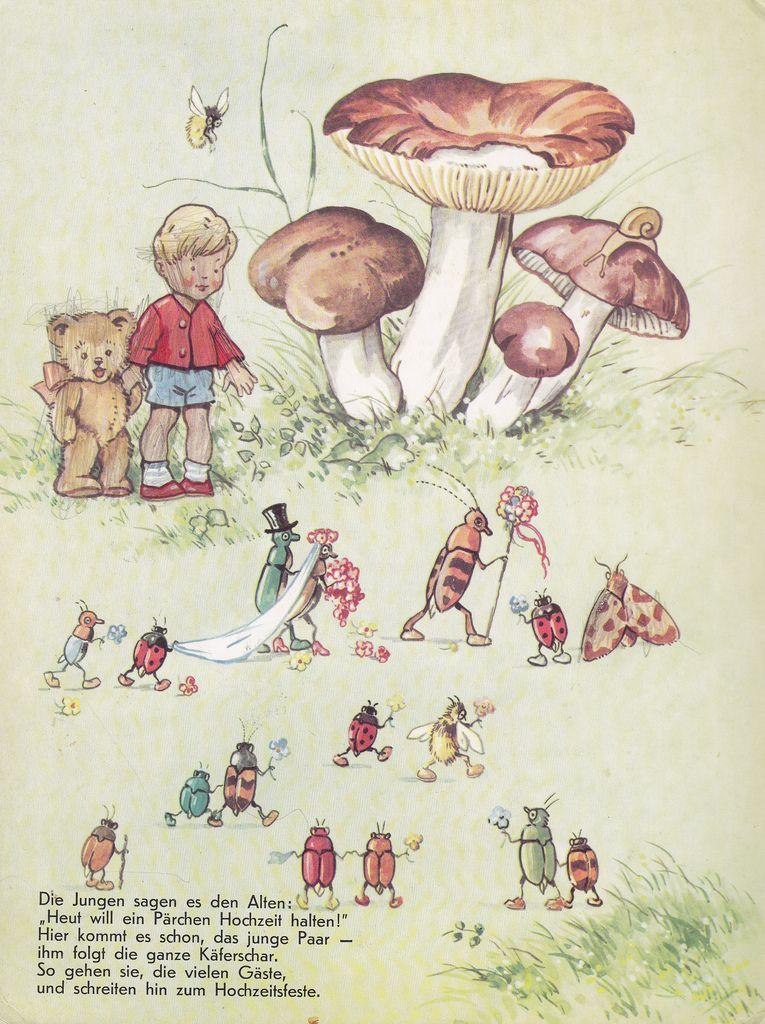 In Brummelstadt Kinderbuch/Bilderbuch Bilder: Fritz Baumgarten Pestalozzi Verlag (Erlangen/Deutschland; 1969) ex libris MTP