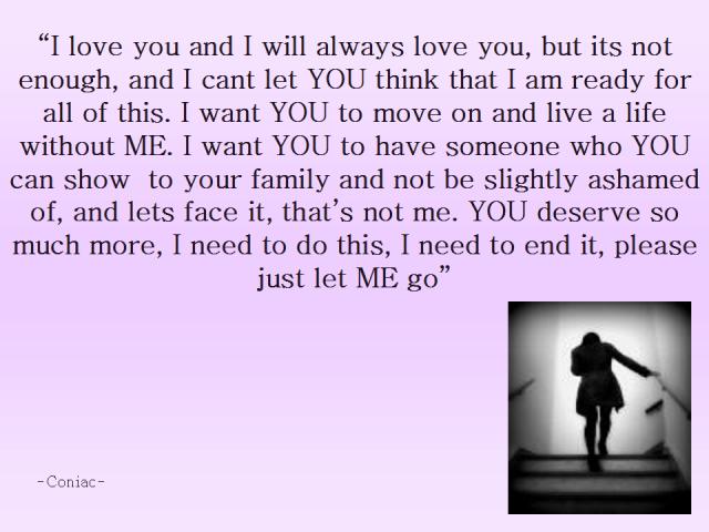 Please let me go