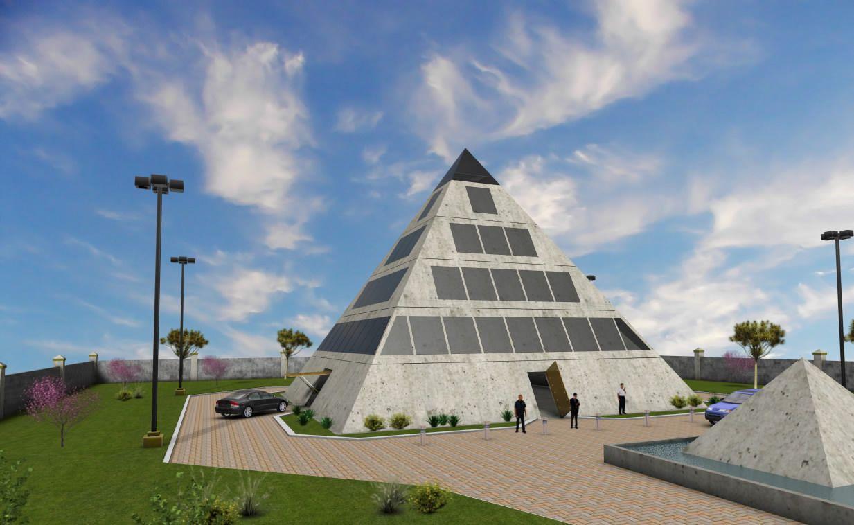 Pyramid Shaped Home Plans Escortsea