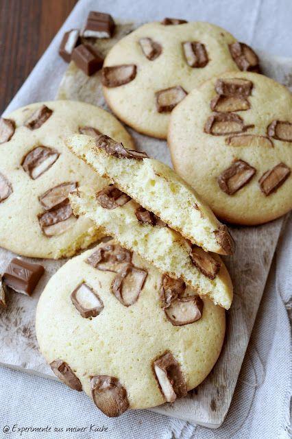 kinder Schokolade - Cookies - Experimente aus meiner Küche