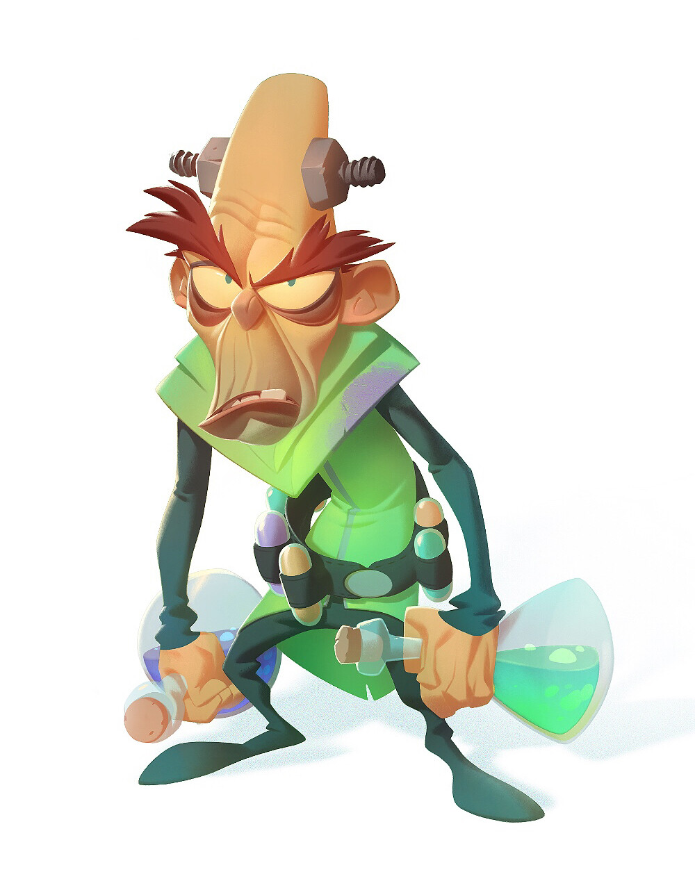 Artstation Crash Bandicoot 4 Villains First Look Nicholas Kole Crash Bandicoot Crash Bandicoot Characters Bandicoot