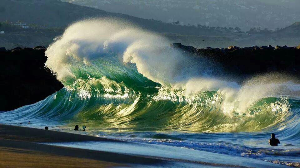 The Wedge, Newport Beach, California