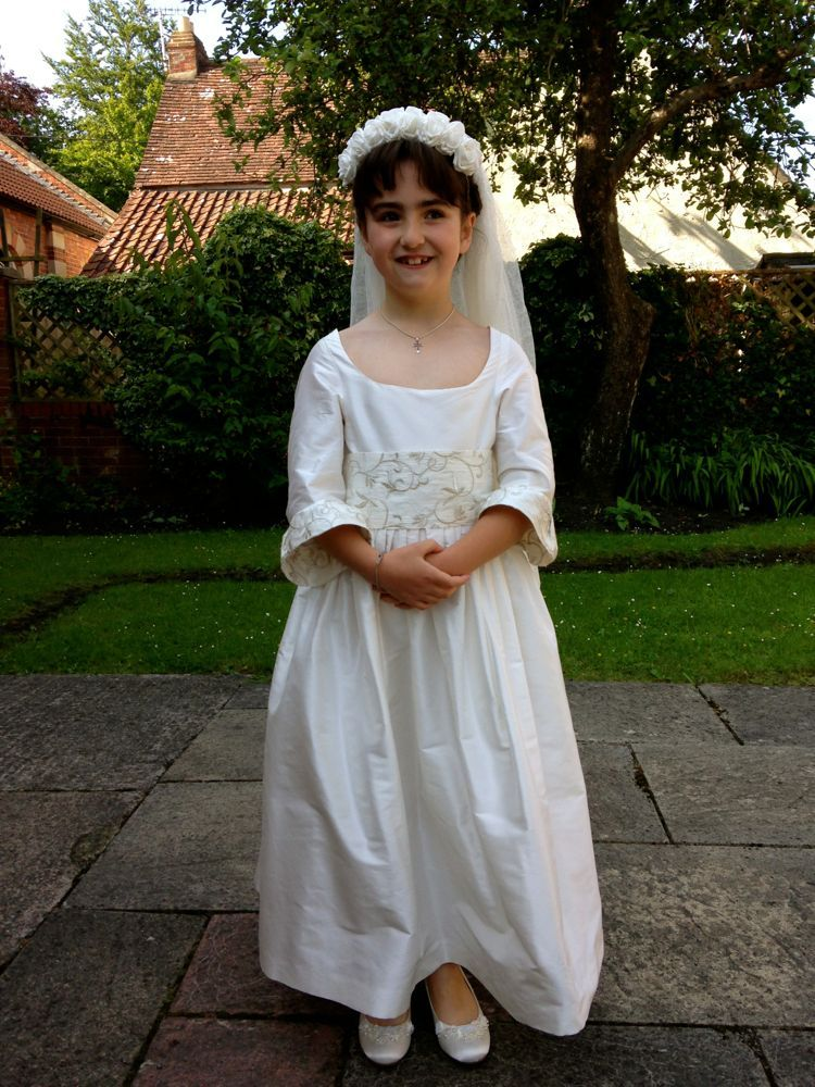 Kathryns First Communion Dress 1780s Corpus Christi Pinterest