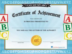 abc certificate | esl teaching | Pinterest