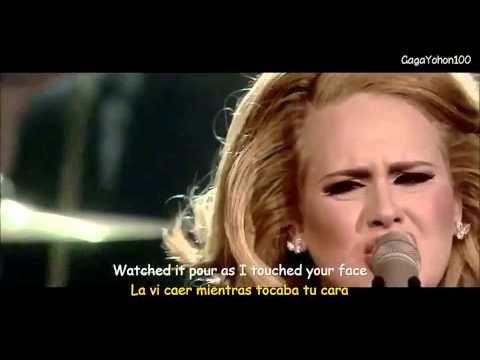 Adele Someone Like You Subtitulos Espanol Ingles Musica Con Subtitulos En Espanol Pinterest Adele And Musica