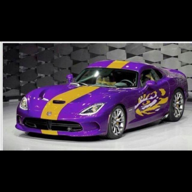 Cool LSU car