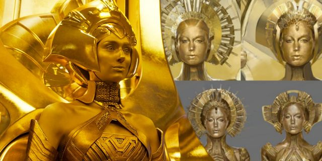 Alternate Ayesha Costume Designs For Guardians Of The Galaxy 2 Ficcao Cientifica Cientifica Ficcao
