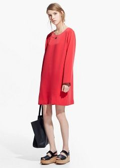 Side pockets dress