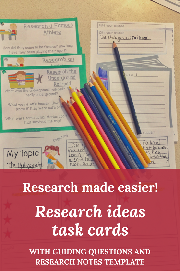 good research topics for kids