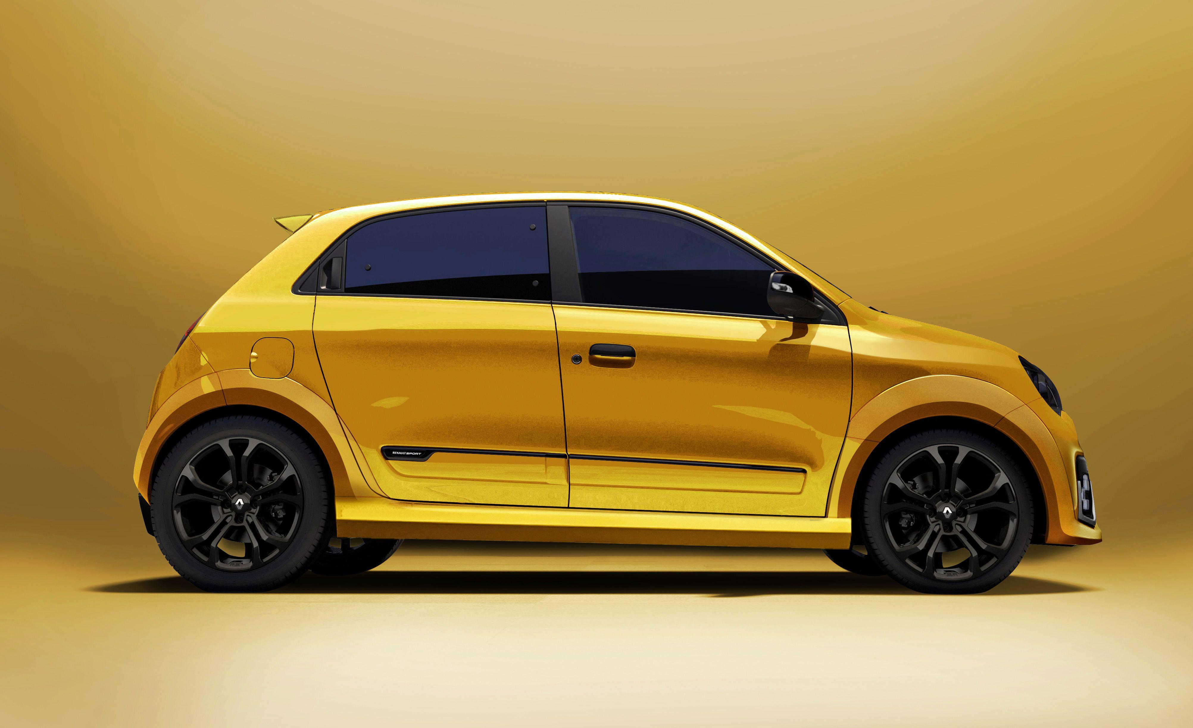Renault Twingo R S 2017 Render C Monholo Oumar 2016 Renault 5