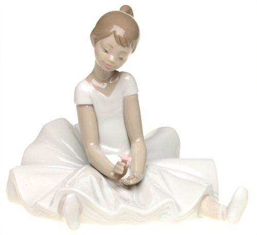 Nao Dreamy Ballet Porcelain Figurine Porcelain Figurines Lladro Porcelain Lladro Figurines