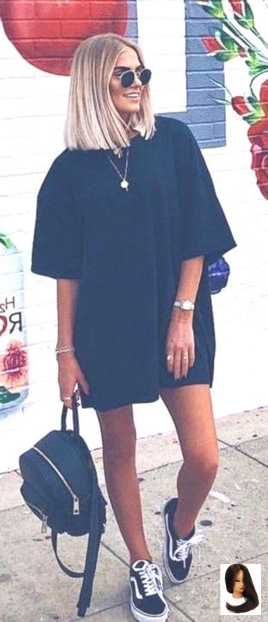 Photo of #Estate #Abiti vestito nero e furgoncini neri bassi.
