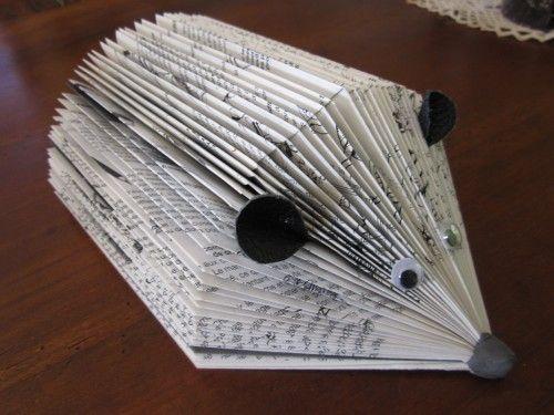 Petits Poussins De Paques Paper Artwork Pliage Livre