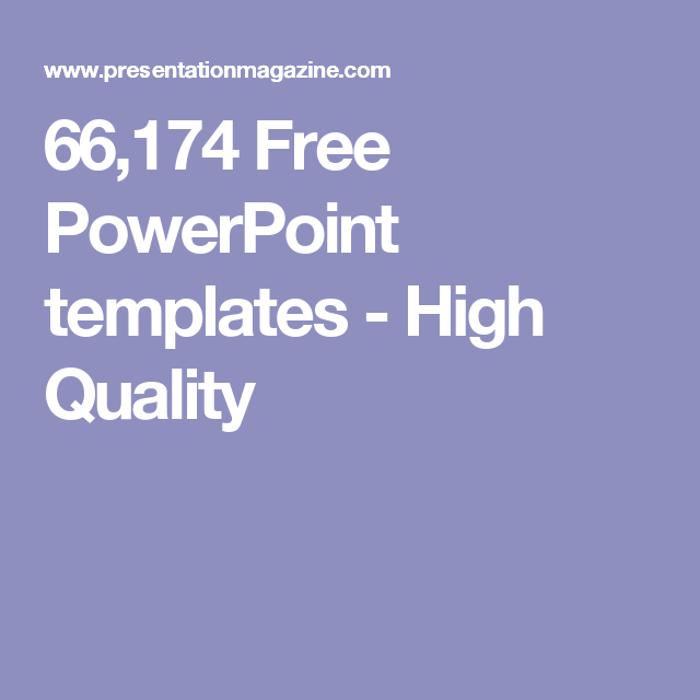 66174 Free Powerpoint Templates High Quality Blogger Pinterest