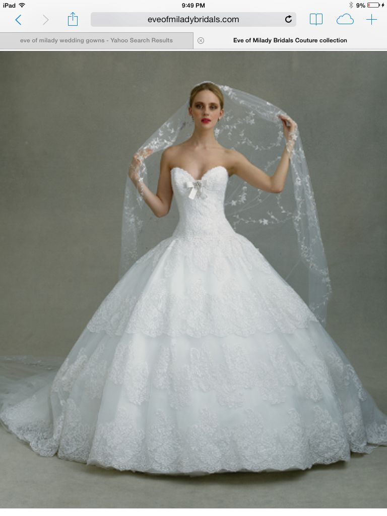 Welcome new post has been published on for A big wedding dress