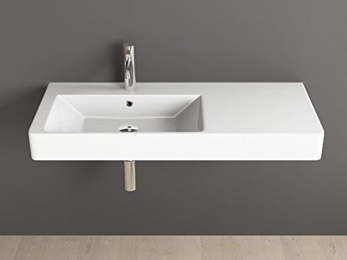 Aqua Bagno KP.100.L diseño lavabo/Accesorio de piscina 100 x 45 cm ...