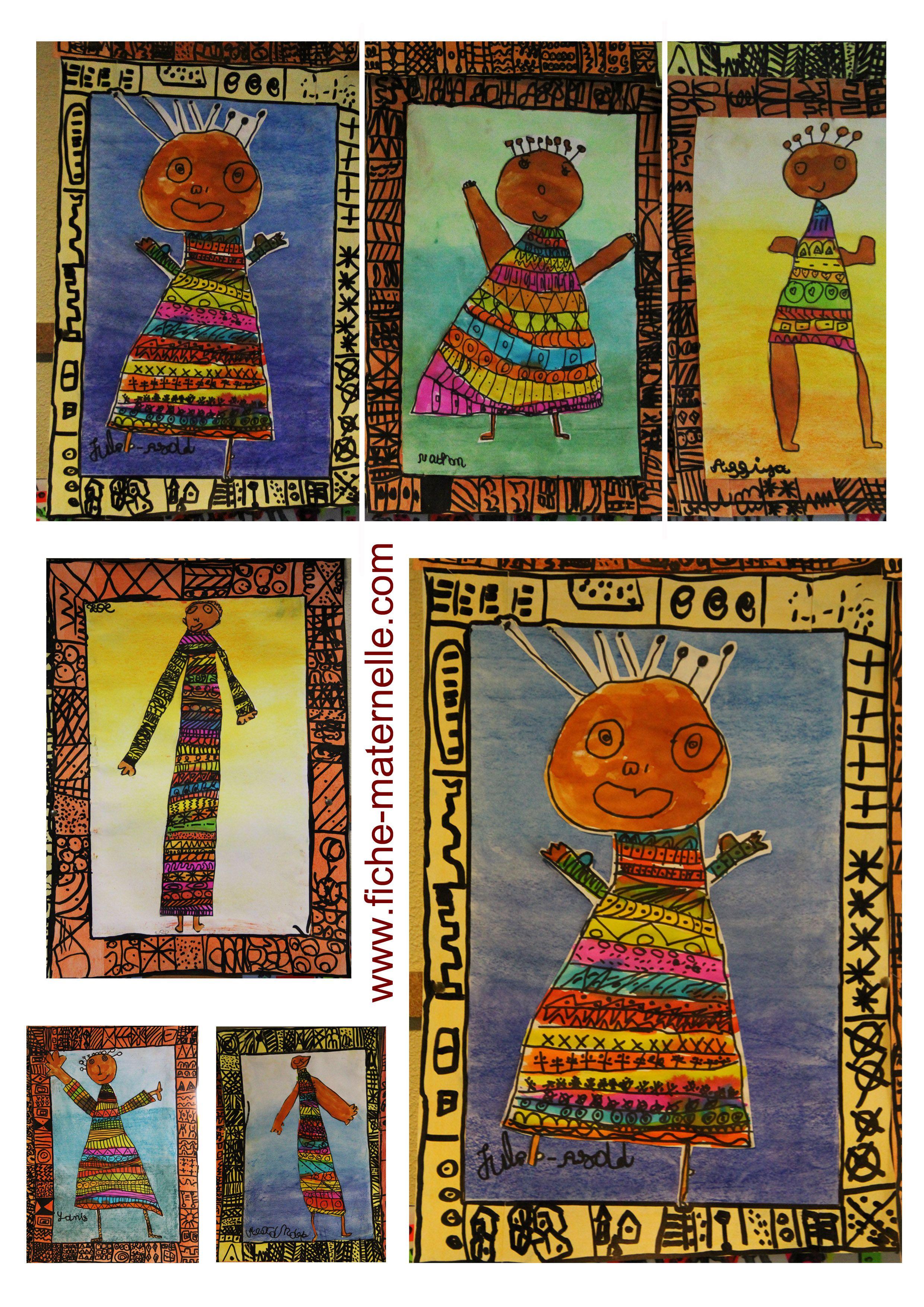 Arts plastiques la maternelle rafara album art - Animaux afrique maternelle ...