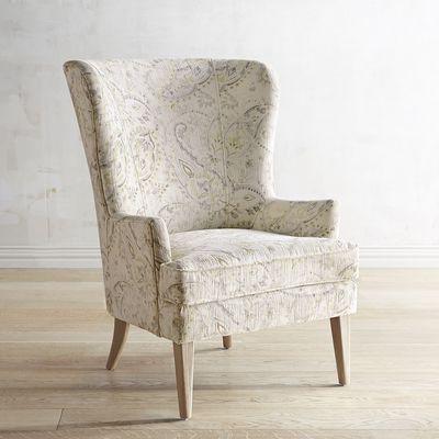 Asher Velvet Paisley Chair