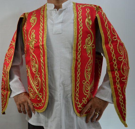 BLUE VELVET VEST EXOTIC DANCER Embroidered Waistcoat Waist costume