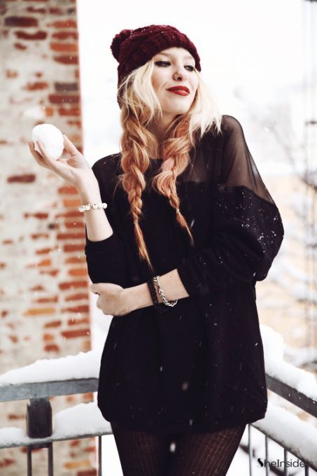 Dressed In Black - Womens Fashion Clothing at Sheinside.com
