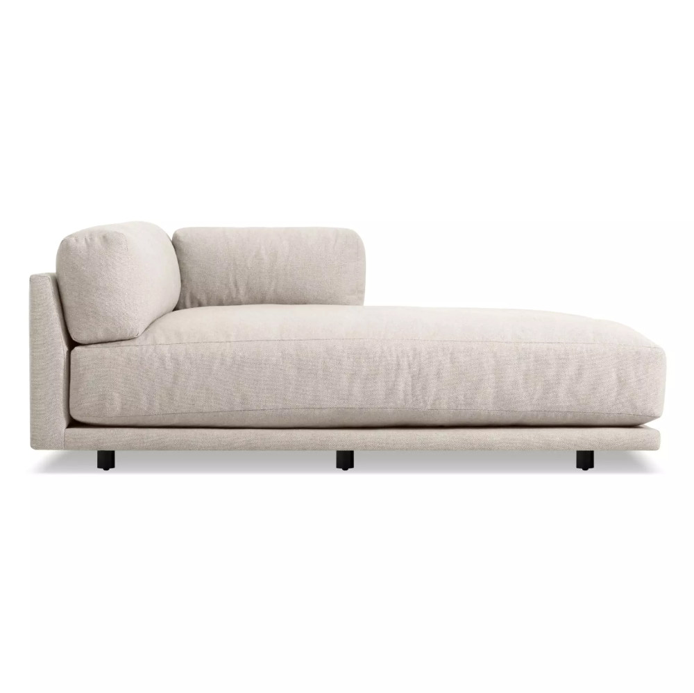 Sunday Chaise In 2020 Chaise Fluffy Cushions Contemporary Modern Sofas