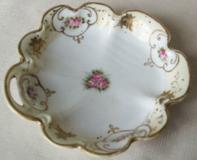 Antique Noritake Nippon Rose Dish-Nippon China Nappy, Nippon Rose ...