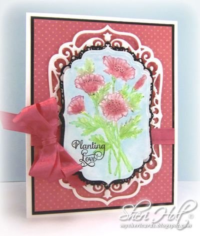 faber castell -justrite papercraft mixed media blog hop day one   card making designs, paper