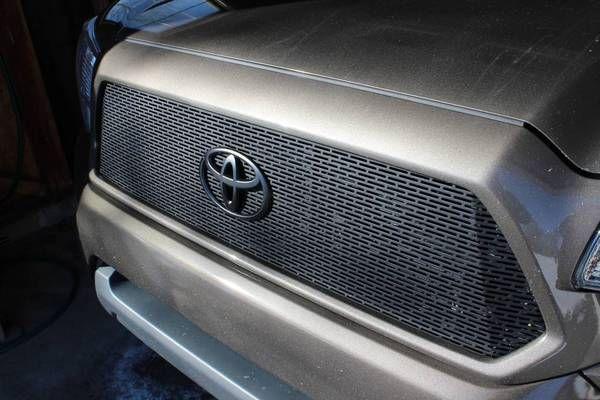 2012 Grill Mod Write Up Thin Lip Custom Car Grills Diy Custom Cars Tacoma Accessories Tacoma Mods