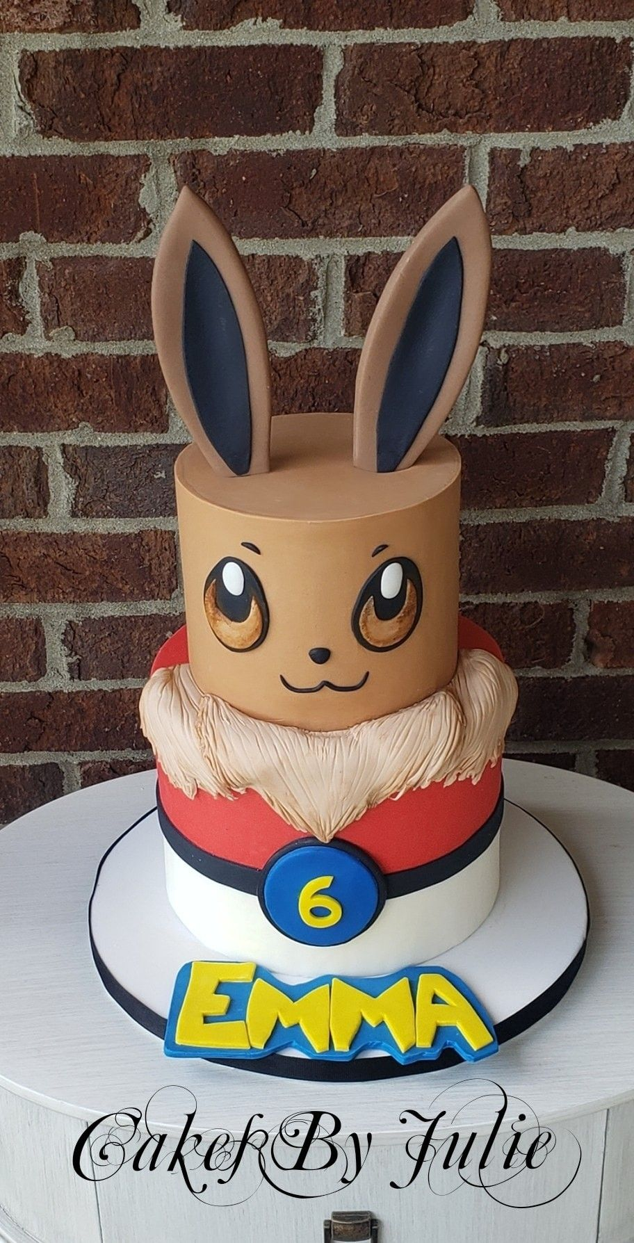 Evie pokemon cake pokemon birthday cake pokemon