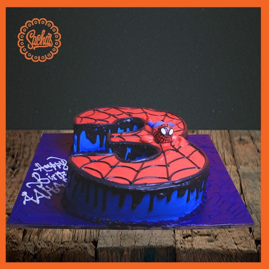 Stupendous 21 Brilliant Picture Of 3Rd Birthday Cake With Images Funny Birthday Cards Online Alyptdamsfinfo