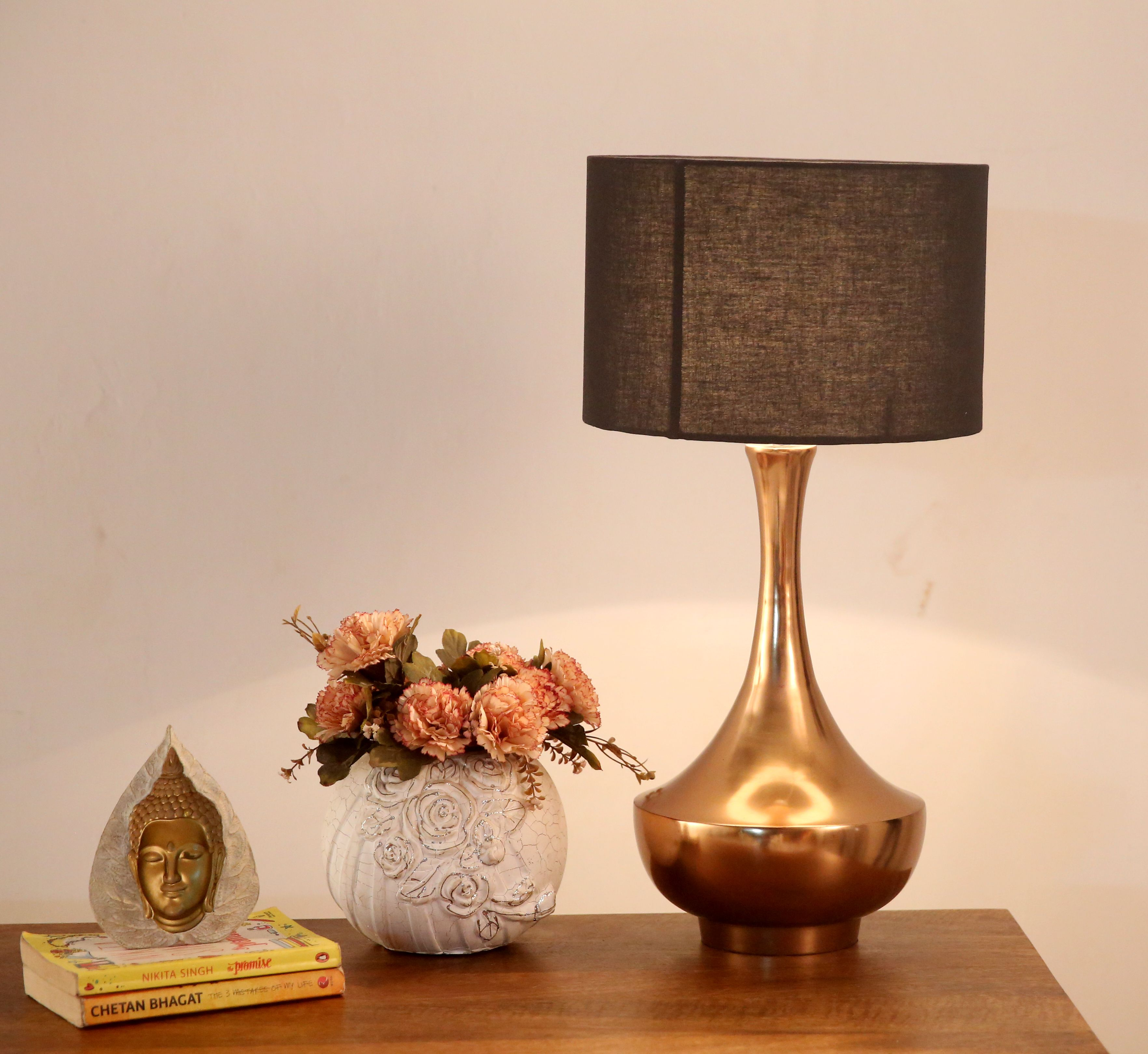 Hello Gorgeous Arabia Copper Table Lamp Can Make Any Corner Of