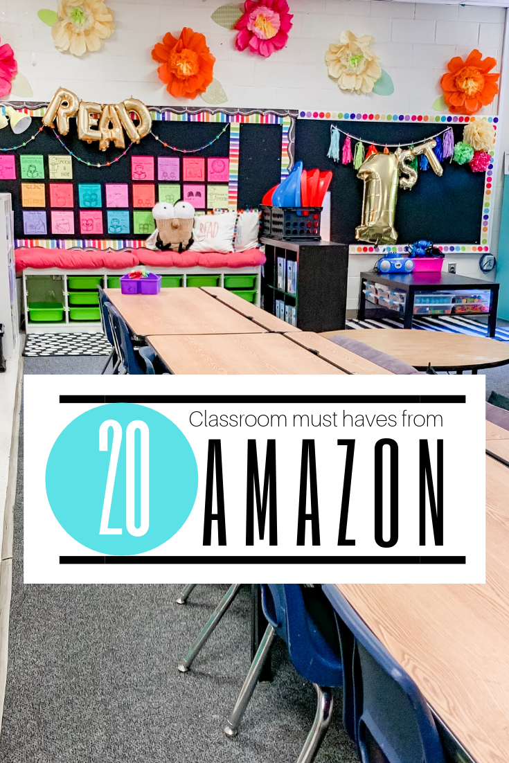 Classroom Must Haves from Amazon - Keeping Up with Mrs. Harris