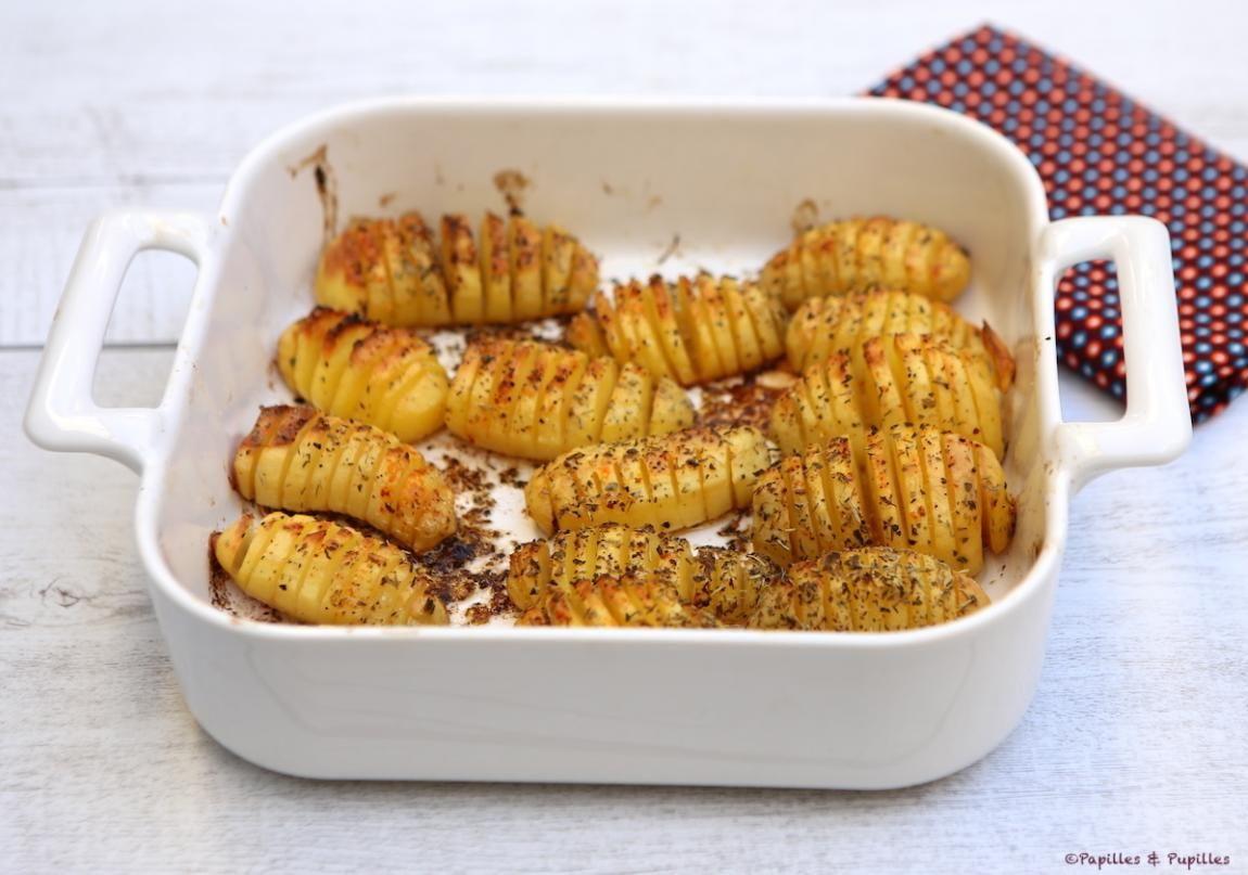 Pommes de terre rôties au four à la suédoise | Pommes de terre rôties au four, Pommes de terre ...
