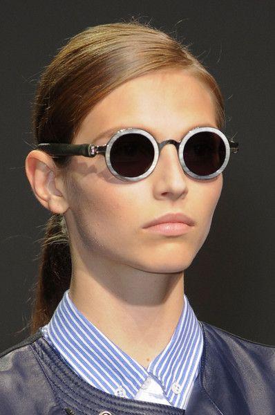 Round eyeglasses @ Damir Doma Spring 2013  Paris Fashion Week #PFW