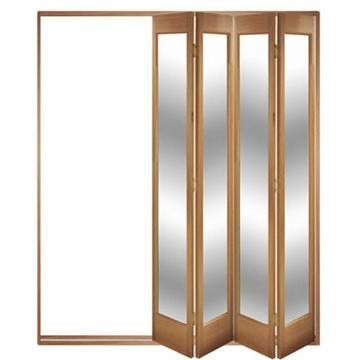 Image of Folding Doors, IFS-4FMAR (Open Left or Right) Marston 4 Door Set, Frame & Glass