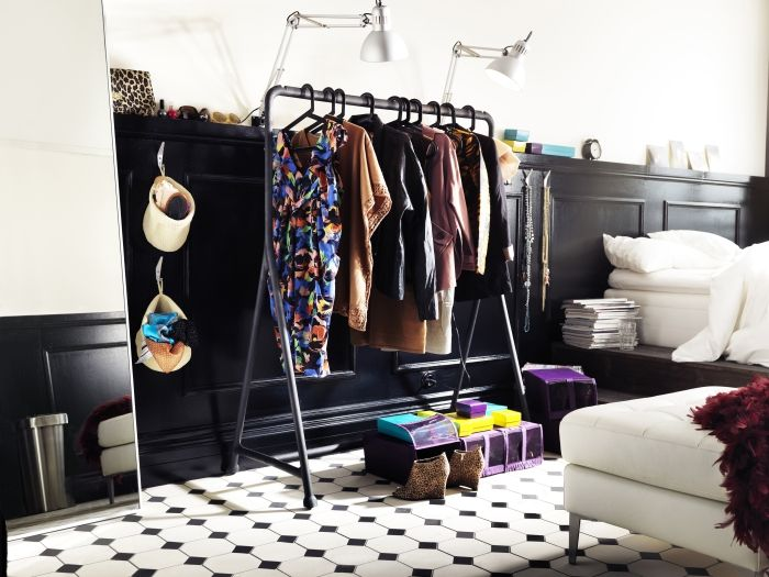 TURBO Clothes rack, indoor outdoor, black Clothing racks, Feel like and Boutiques